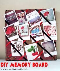 diy reminder memory board idea