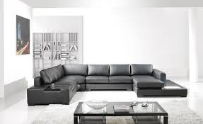 modern black leather couches. Alternative Views: Modern Black Leather Couches L