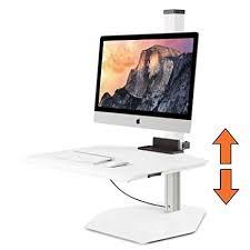 standing desk imac.  Imac Stand Steady Winston For Apple IMac Single SitStand Desk Innovative  WNSTAPL For Standing Imac M