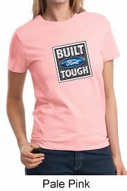 pink built ford tough logo.  Logo Built Ford Tough Shirt Logo Ladies Tee TShirt On Pink O