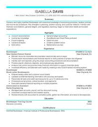 Bookkeeping Resume Bookkeeper Resume Examples Accounting Finance Resume
