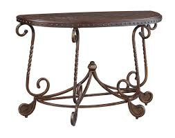 ashley furniture rafferty sofa table to enlarge