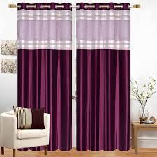 Designer Curtains Flipkart Akshya 274 Cm 9 Ft Polyester Long Door Curtain Pack Of 2