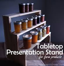 Table Top Product Display Stands Tabletop Presentation Stand For Farm Products Hobby Farms 54