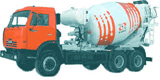 Автомобильные перевозки строительных грузов Перевозка  Автобетоносмеситель 58147w КамАЗ 65115