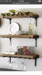 Hang our Vigneto Shelving individually or together on or any combination to  create a wall of storage and display. Each shelf is hand crafted of  distressed ...