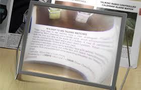magnifying sheet a4 sheet magnifier