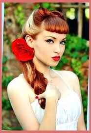 unique style 50s hairstyles tutorial fifties hairstyles updo fifties hairstyle