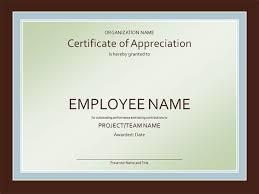 Professional Certificates Templates Certificate Of Appreciation Template 2