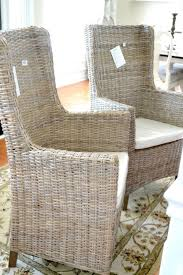 Wicker Living Room Furniture Indoor Rattan Dining Room Chairs Modern Wicker Dining Room Chairs
