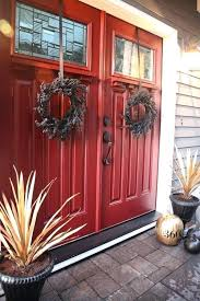 double front entry doors with glass love the red double doors double front entry doors glass
