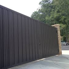 solid metal fence. Iron Curtain Steel Privacy Panels Specifications Solid Metal Fence