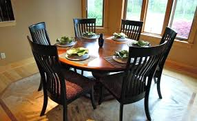 kitchen table round 6 chairs impressive round dining table and chairs pedestal inch with black wood