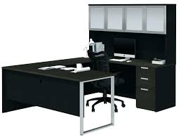 narrow desk with hutch danielboonecabinsinfo