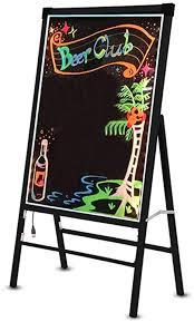Portable Electronic Fluorescent Board, LED Writing ... - Amazon.com