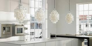 Originales Luces Colgantes Blancas Cocina
