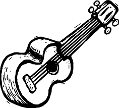 Small Picture Guitar Coloring Page Wecoloringpage