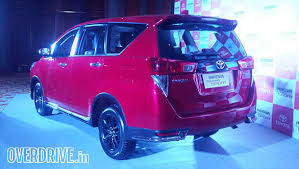 2018 toyota innova touring sport. beautiful 2018 2017 toyota innova crysta touring sport launched in india at rs 1779 lakh with 2018 toyota innova touring sport