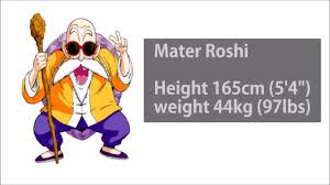 Dragon Ball Characters Lined Up In Order Of Height Youtube