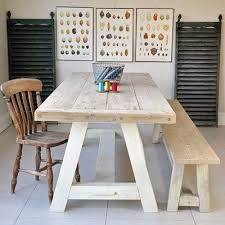 recycled dining tables perfect home remodeling