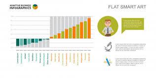 Engineering Bar Chart Slide Template Vector Free Download