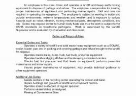 Machine Operator Job Description For Resume For Free Cnc Operator ...