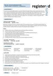 Resume Template For Rn Mesmerizing Rn Resume Samples 48 Nursing Cv Template Nurse Examples Sample