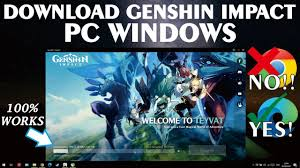 How To Download Genshin Impact for PC Windows - YouTube