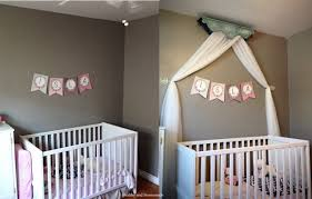 Easy DIY Crib Canopy