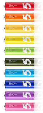 <b>Батарейка</b> ZMI <b>Xiaomi</b> AA501 Rainbow ZI5 типа <b>AA</b>, 10 шт ...