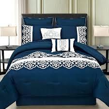 navy and white bedding dark blue bedding sets blue king size comforter sets navy blue king