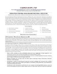 Nurse Practitioner Resume Nurse Practitioner Resume Inspirational