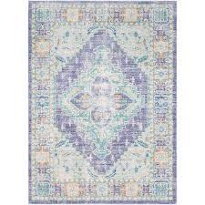 karolina bright purple 8 ft x 10 ft indoor area rug