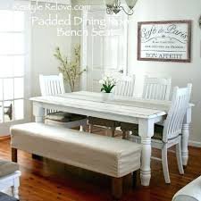 table bench seat covers round table with bench seat large size of and chairs wooden kitchen