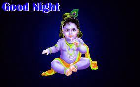 Good Night God Krishna HD Wallpaper ...