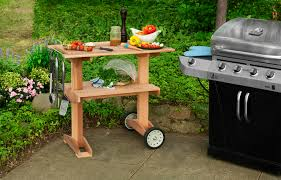 outdoor grill prep station mini