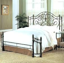 Iron Bed Frames King Cast Iron Bed Frame Queen Bed Frames King White ...