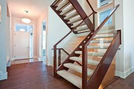 open tread stairs. Delighful Stairs Open Riser Stairs Staircase Artistic Intended Tread