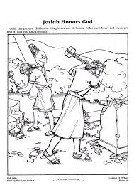 Small Picture BIBLE COLORING PAGES King Josiah Sunday school Pinterest