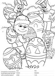 Kleurplaat Pasen Djambo Kidsplaydjambo Kidsplay