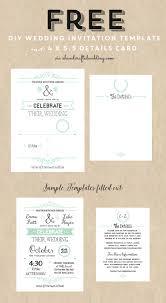 Wedding Do It Yourself Wedding Invitations Templates Cool