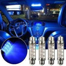 4x <b>Car Interior</b> Blue 42mm <b>41mm</b> Dome 8 SMD <b>LED</b> Bulb <b>Lamp</b> ...