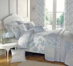 malton bedding set in blue  free uk delivery  terrys fabrics