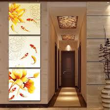 Online floor plan analysis worldwide. Home Art Wall Decor China S Wind Feng Shui Fish Koi Painting Printed On Canvas 3 Art Art Prints