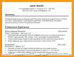 Resume Profile Beauteous Resume Profile Summary Example Ecza Solinf Co Tommybanks