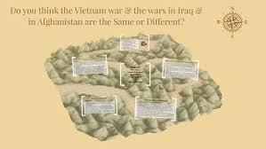 Vietnam And Iraq War Venn Diagram Similarities Between The Vietnam War The Wars In Iraq
