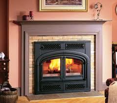 large wood burning fireplace inserts wood burning fireplace inserts installation