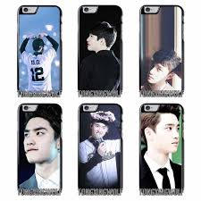 D O kyungsoo Exo Kpop Cover Case For Iphone 4 4s 5 5c 5s se 6 6s