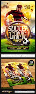 soccer flyer template psd flyer template soccer and flyers soccer psd flyer template only available here ➝ graphicriver net