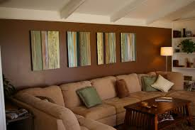 Brown Painted Living Room Sibilco - Painted living rooms